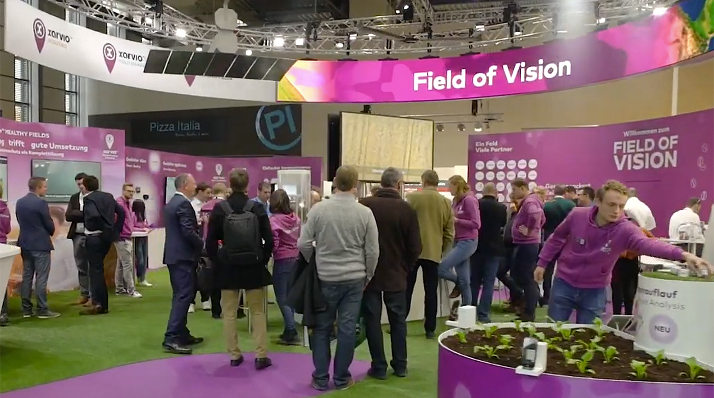 xarvio behind the scenes Agritechnica 2019