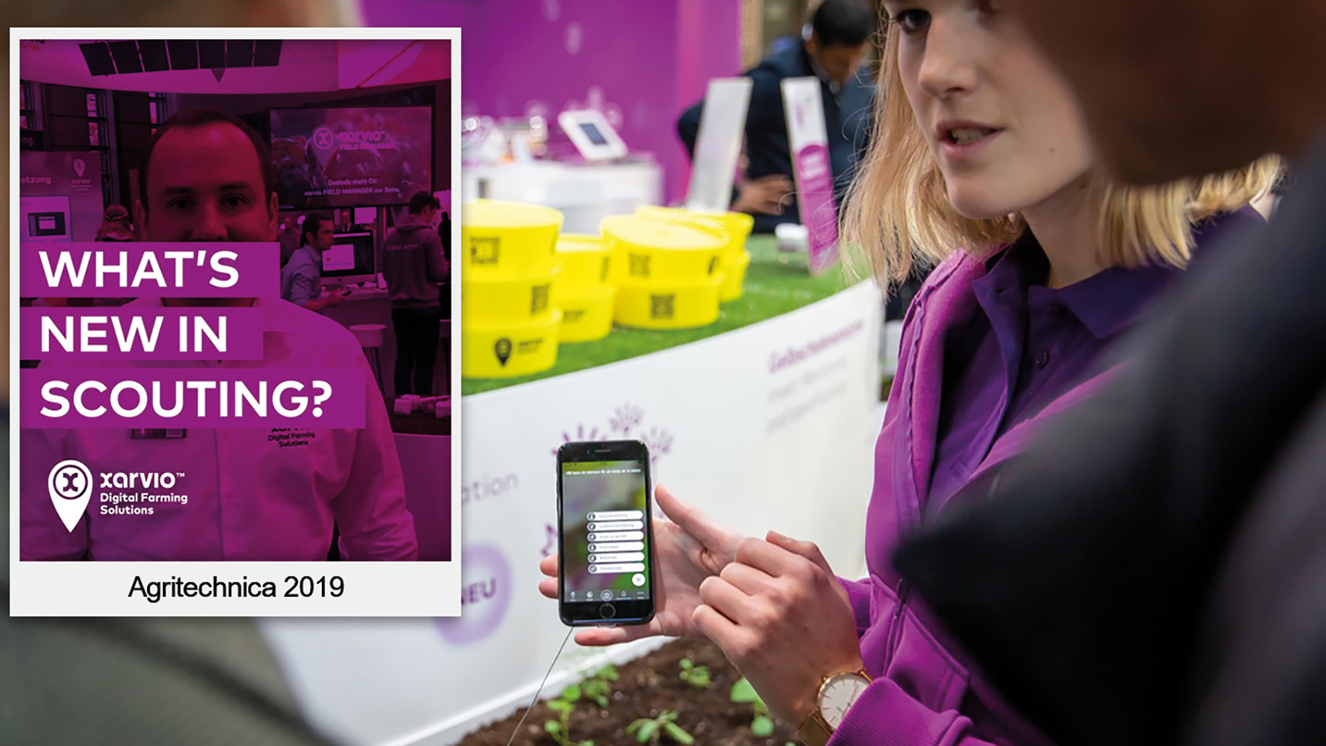 What's new in SCOUTING - Agritechnica 2019