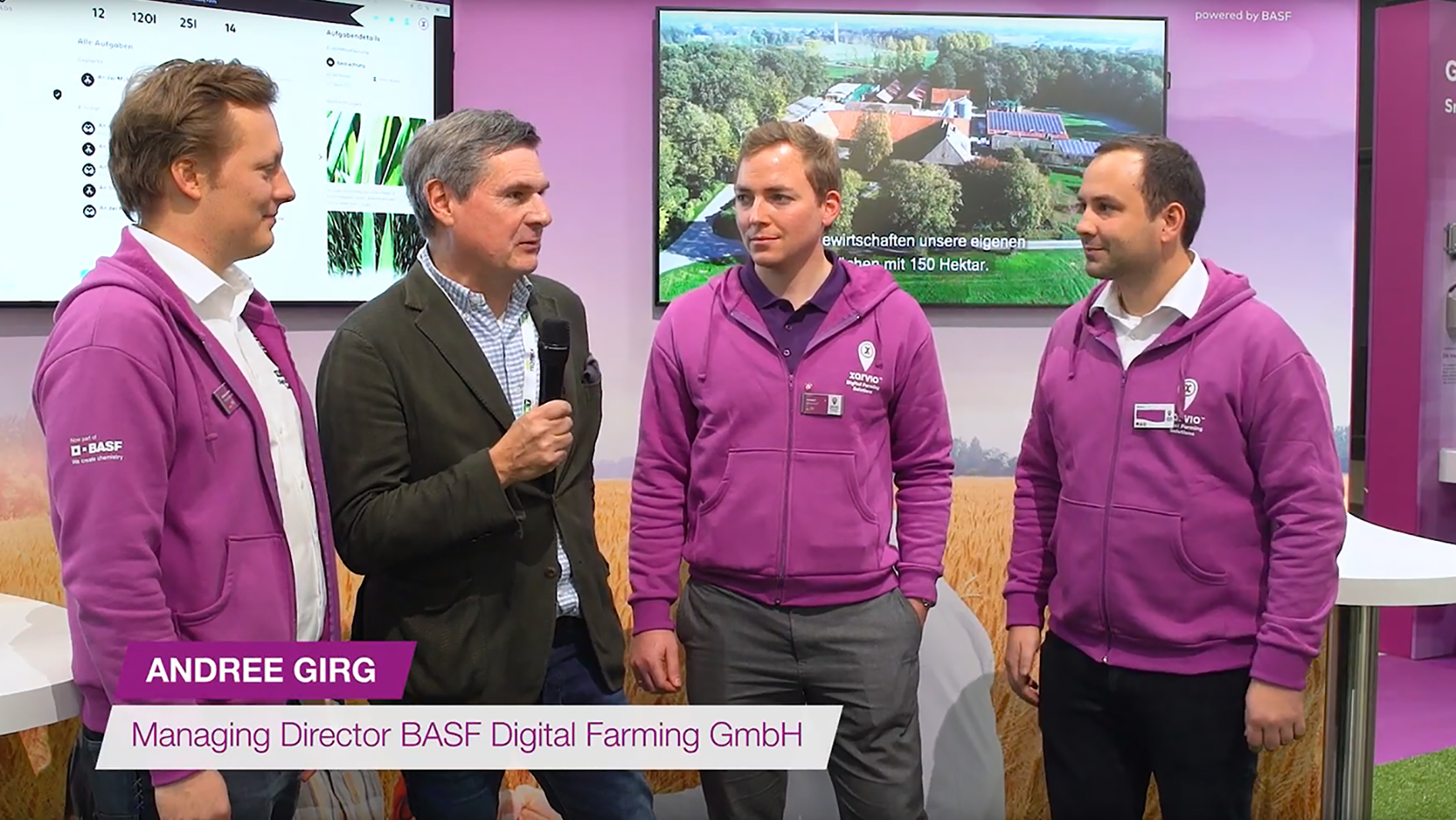 xarvio at Agritechnica 2019 - Evaluation interview